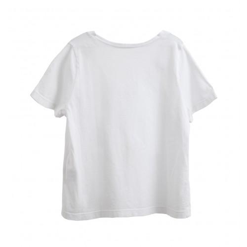 Camiseta cropped YOU&ME , Algodón orgánico