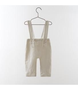 Pantalon de tirantes blanco YOU&ME