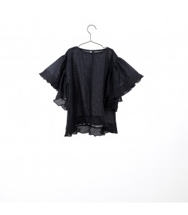 Top with ruffled sleeve lurex YOU&ME