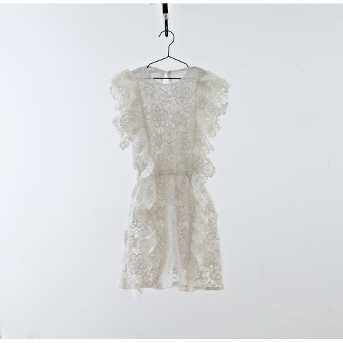 Vestido blanco crochet YOU&ME