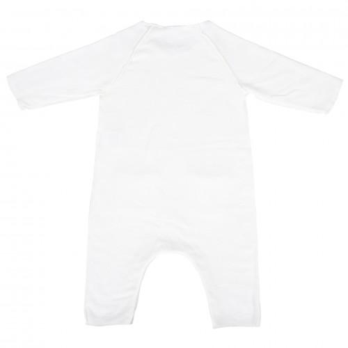 Jumpsuit YOU&ME Relax fit, ranglan sleeve, front packets, finished overlock, supersoft fleece , organic cotton