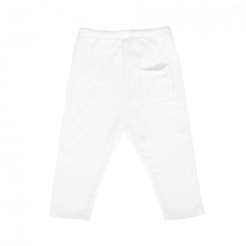 Pantalón YOU&ME loose fit, cinturón seda, felpa supersoft, algodón orgánico