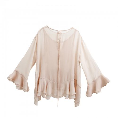 Long shirt YOU&ME , Silk