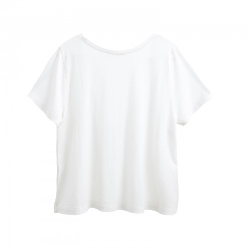 Cropped T-shirt, YOU&ME , silk cotton