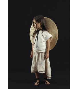 Falda YOU&ME , algodón Egipcio
