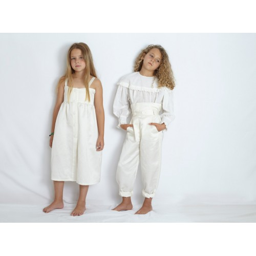 Vestido tirantes blanco YOU&ME